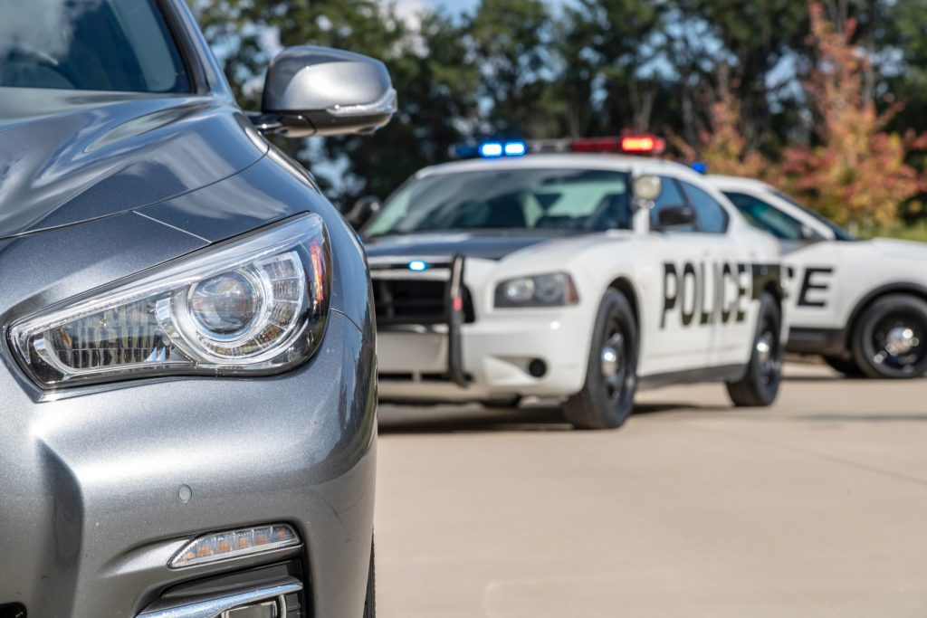 Can the police Tell if you are driving while under the influence?