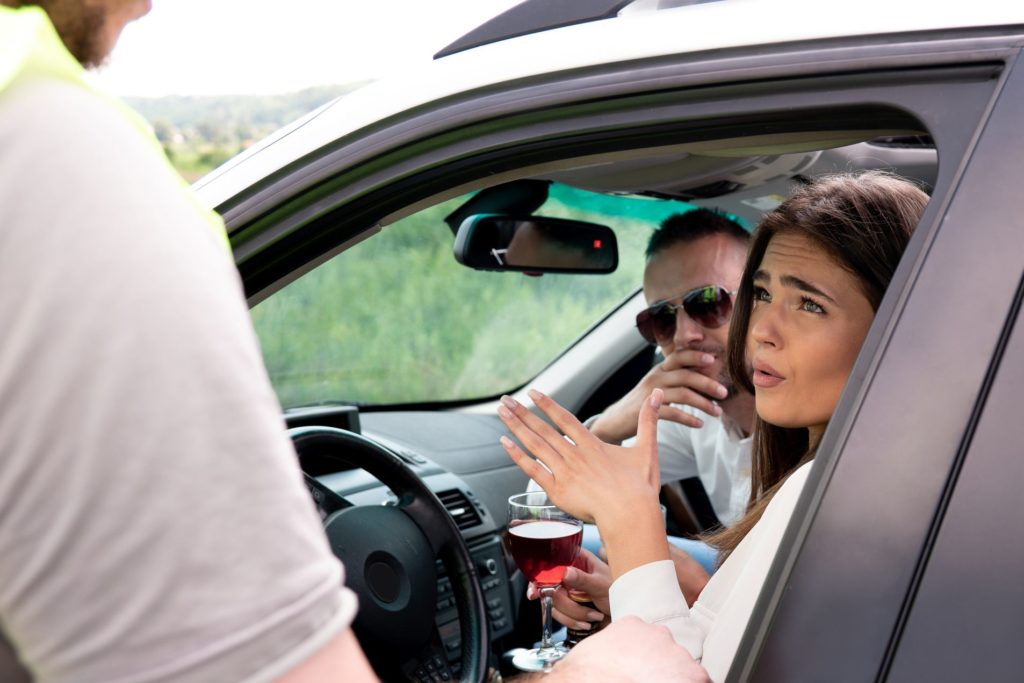 immigrates pulled over for a DUI